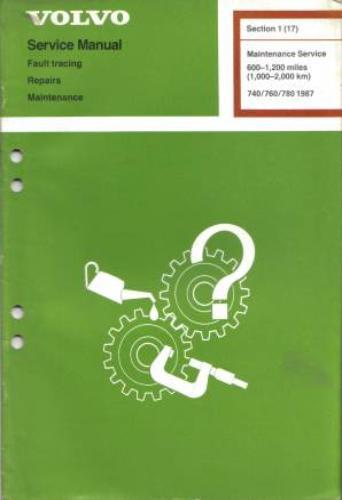 volvo maintenance and repair manuals rh under1981 com Volvo 740 Turbo Wagon Volvo 740 Turbo Specs