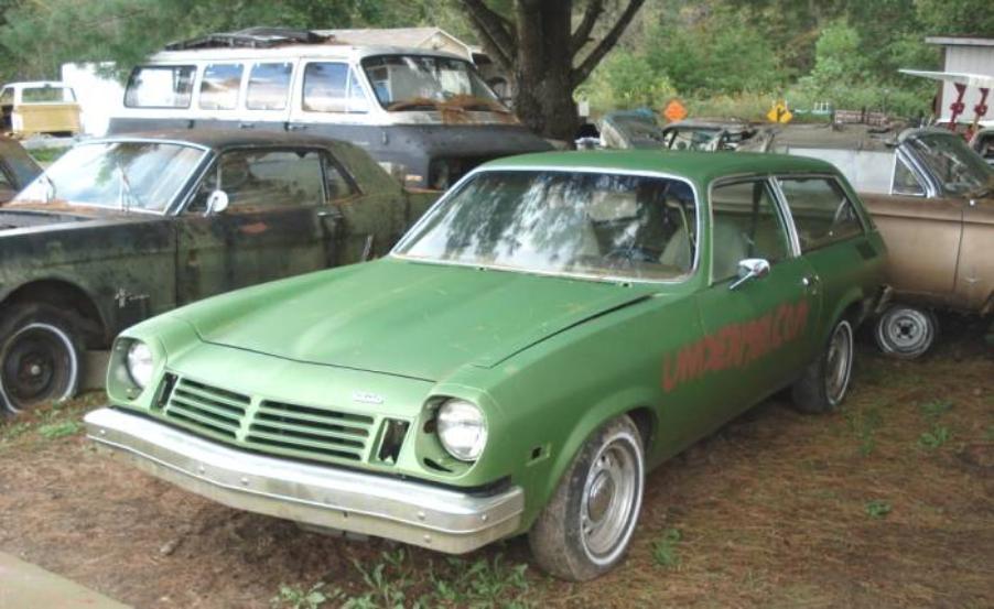 Under1981 Com 1975 Chevrolet Vega Kammback Wagon 1975