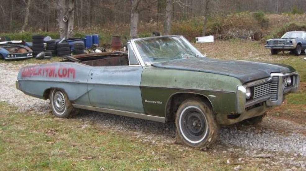 Under19811968 Pontiac Bonneville Convertible68 Pontiac