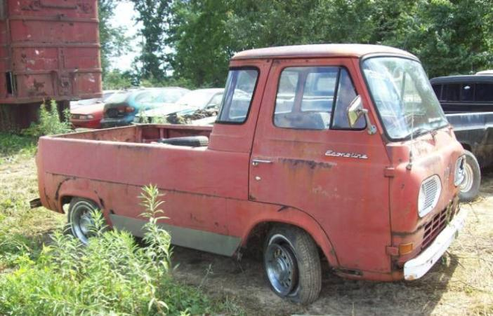 UNDER1981.COM/1965 FORD ECONOLINE PICK UP/65 FORD ECONOLINE TRUCK